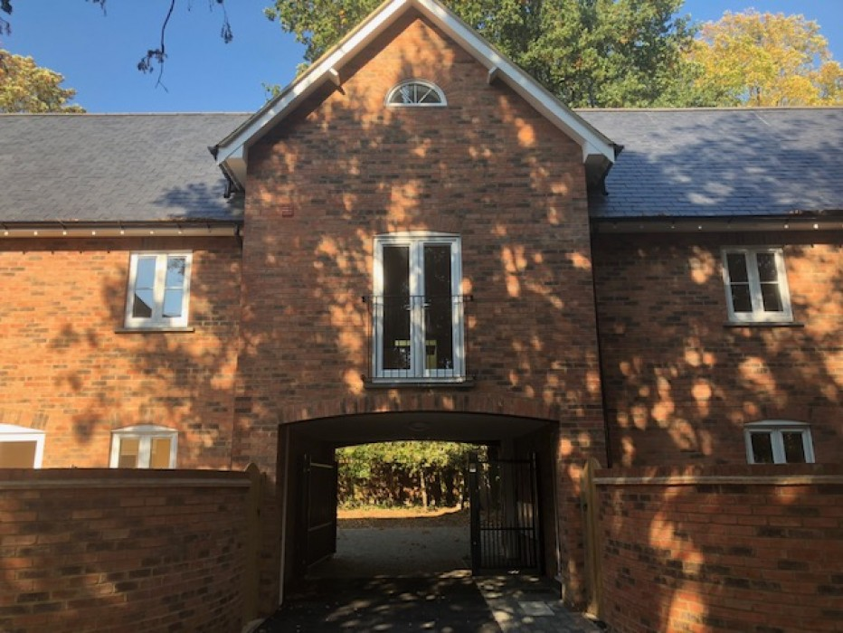 secluded development in Market harborough by Glazing Trade Supplies