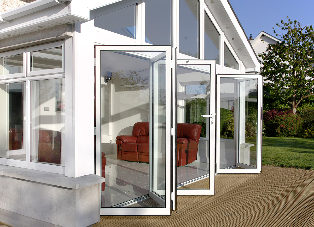 glazing trade supplies Bi-fold Aluminium Doors