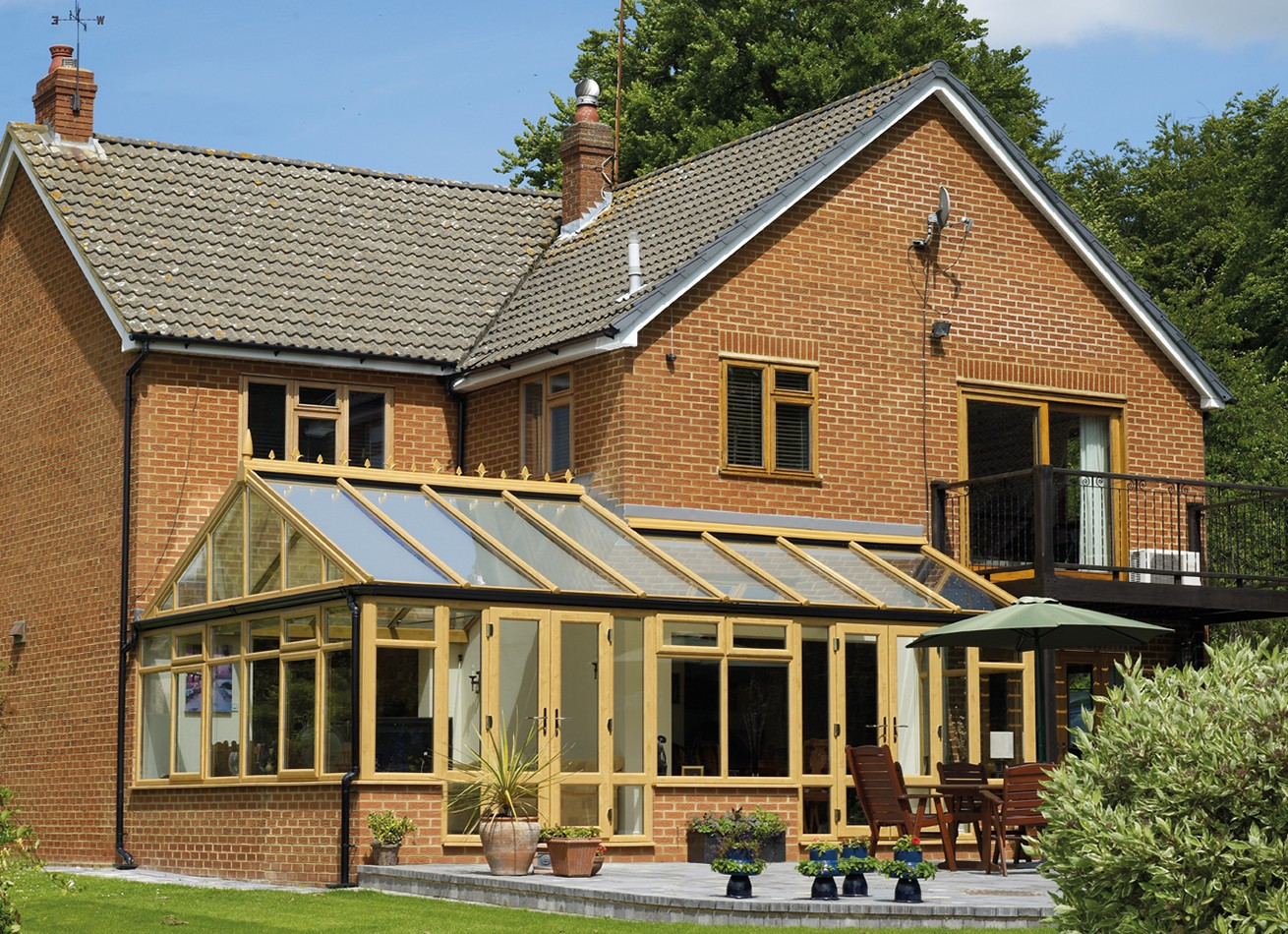 glazing trade supplies P-shaped conservatories 1