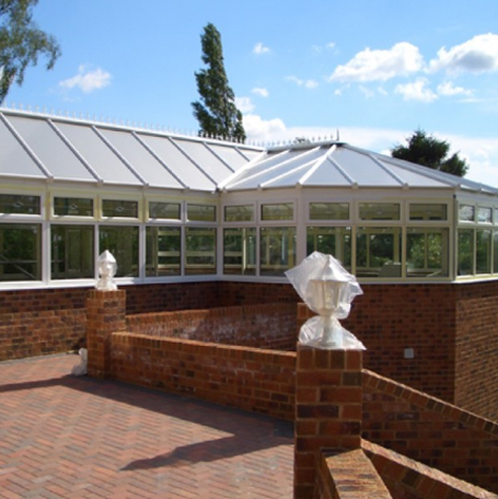 glazing trade supplies P-shaped conservatories