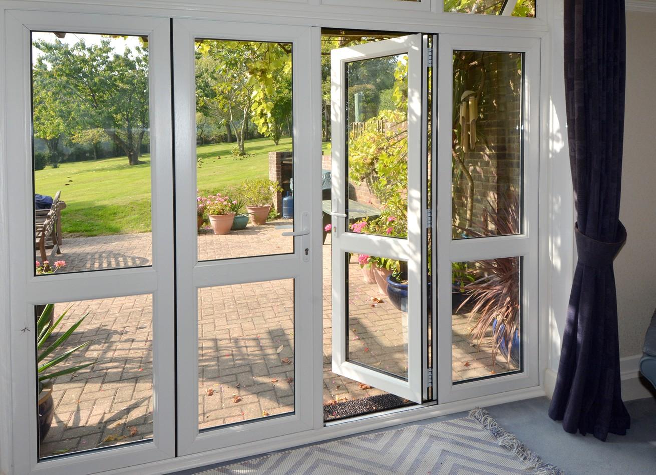 glazing trade supplies uPVC French Doors