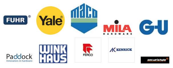 Glazing Trade Supplies Hardware