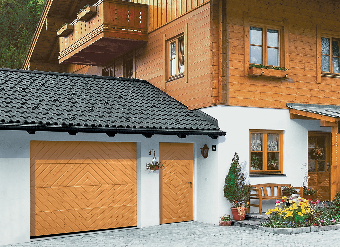 glazing trade supplies Sectional Garage Doors 2