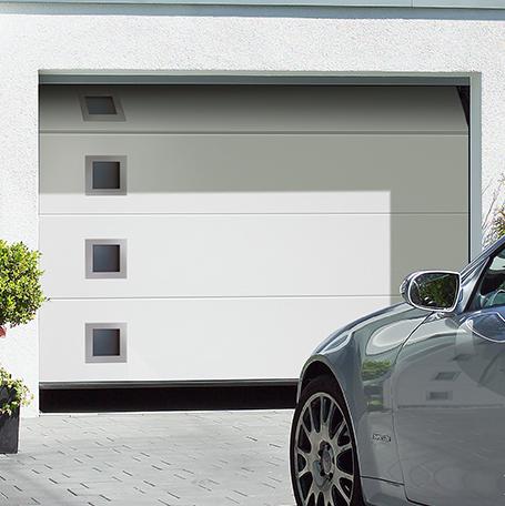 glazing trade supplies Sectional Garage Doors