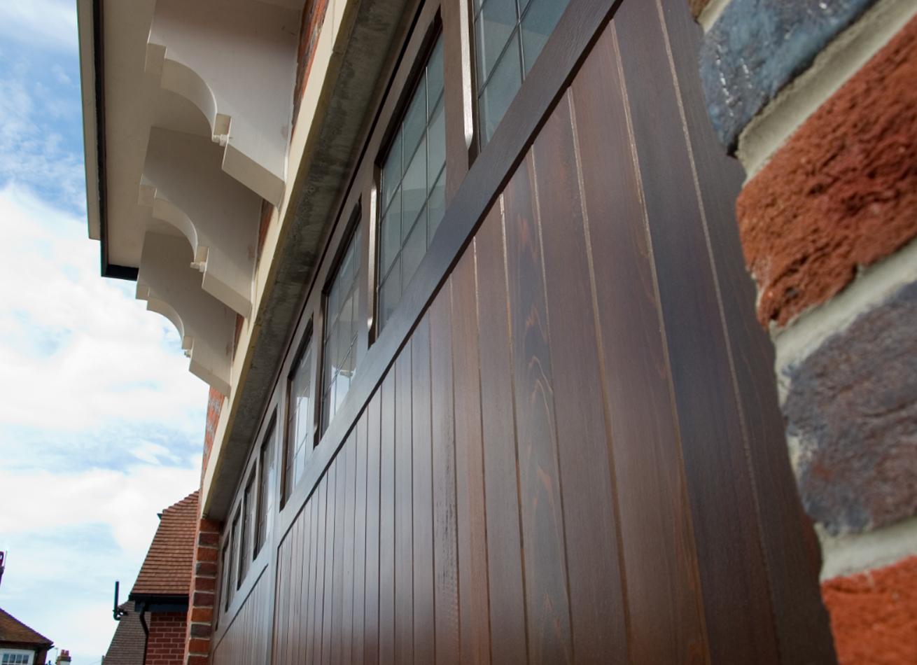 glazing trade supplies Timber Garage Doors 4