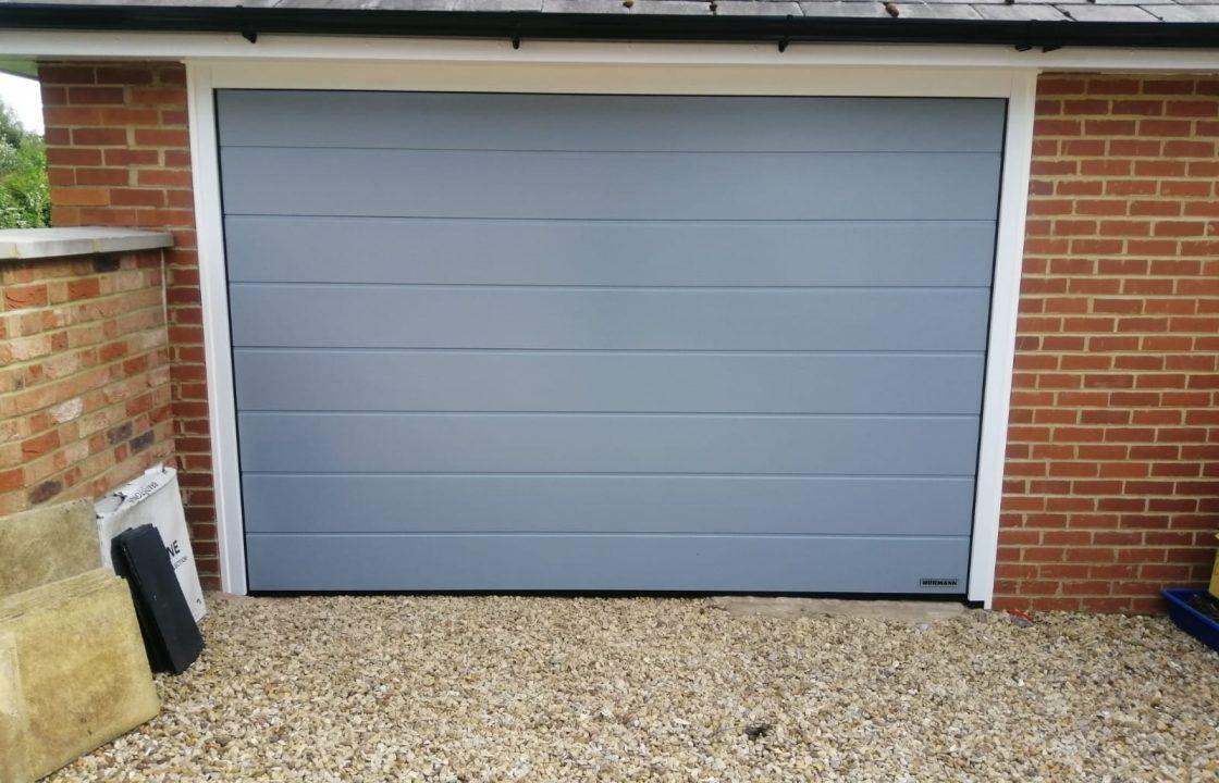 Glazing Trade Supplies Sectional Garage Door