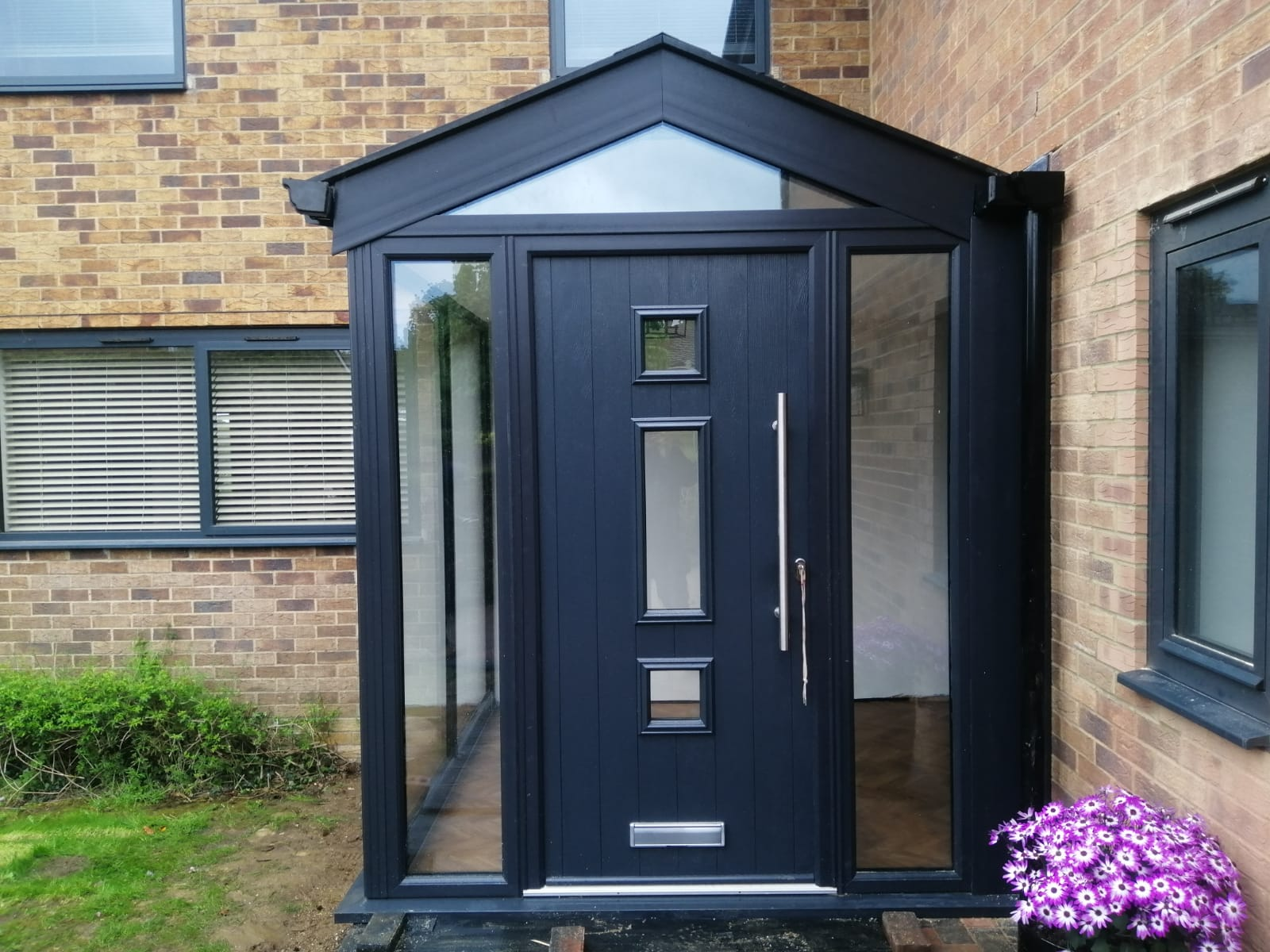 Glazing Trade Supplies Conservatory with Front Door
